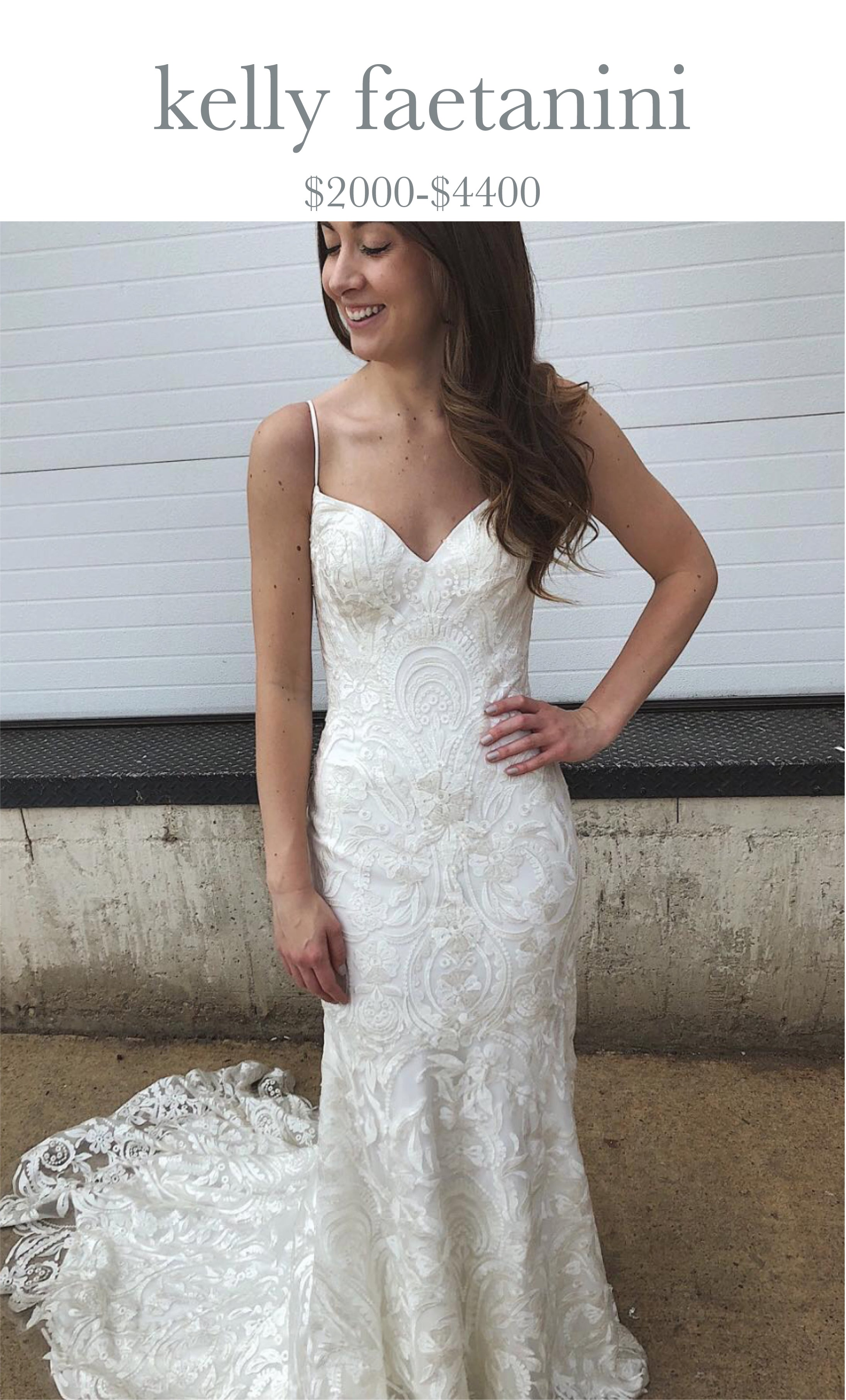 Denver bride in Kelly Faetanini dress