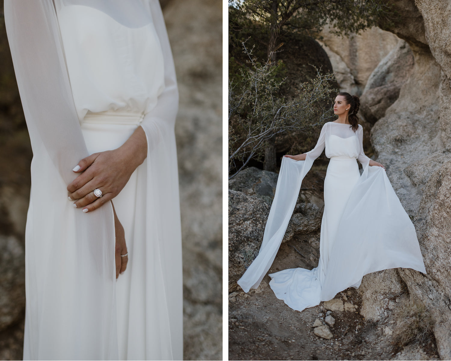 long sleeve pronovias wedding dress