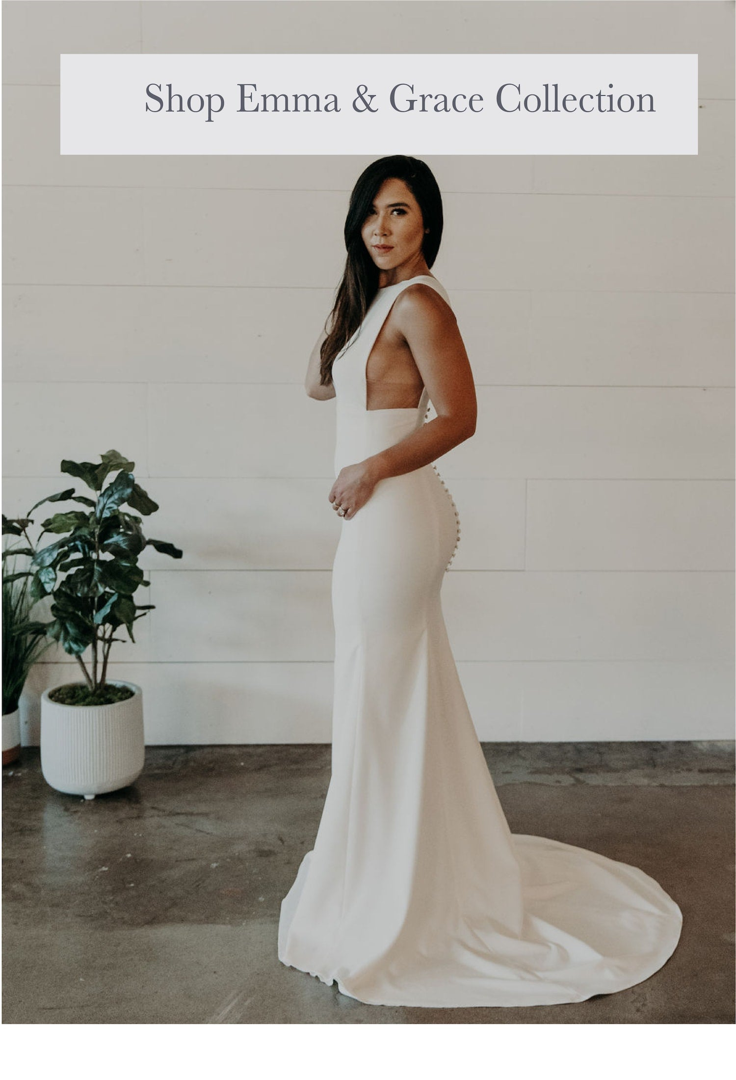 shop online in house bridal gowns