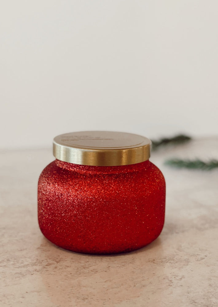 Volcano Sparkle Jar Candle
