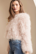 Manhattan Feather Jacket