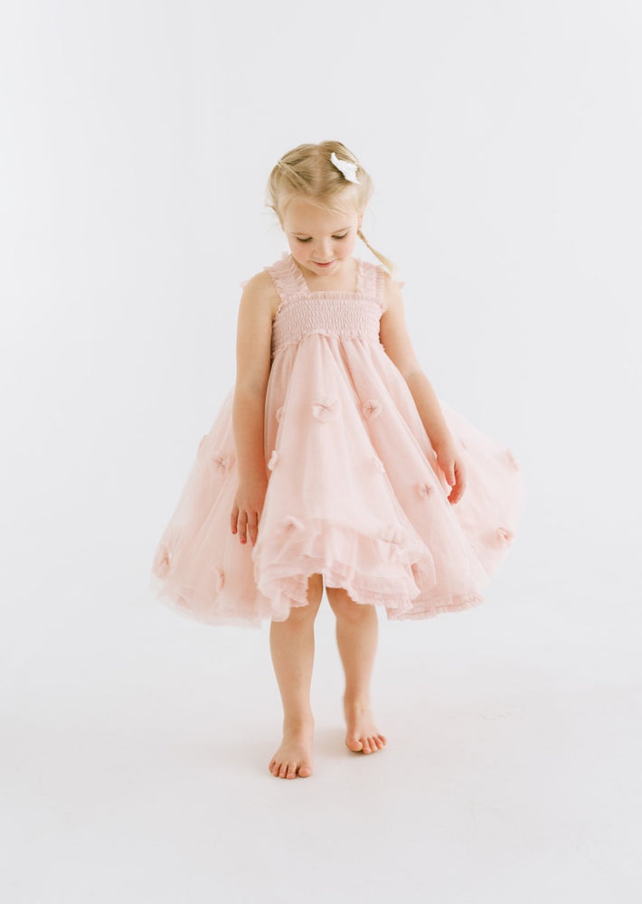 Flower Girl Dress with Wings