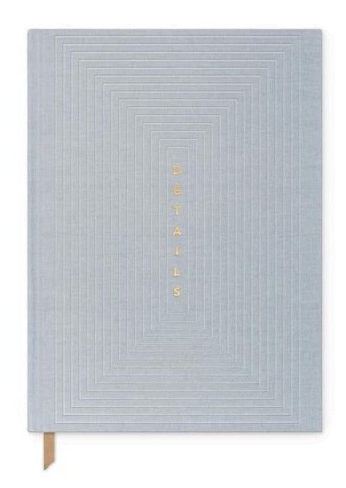 Dusty Blue Details Planner