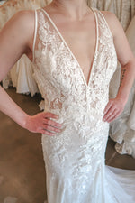 pronovias fit and flare