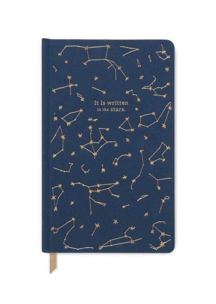 """It Is Written In The Stars"" Cloth Journal"