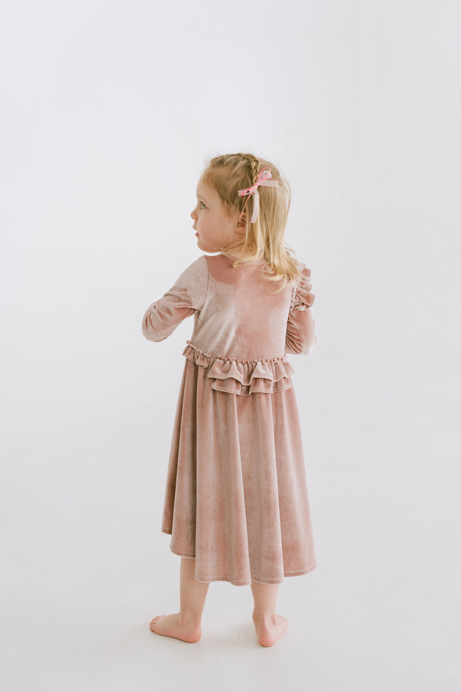 Flower Girl Dress for Winter