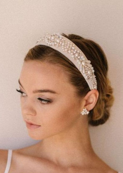 Mars Pearl Detailed Bridal Headband