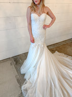 mermaid style wedding dress