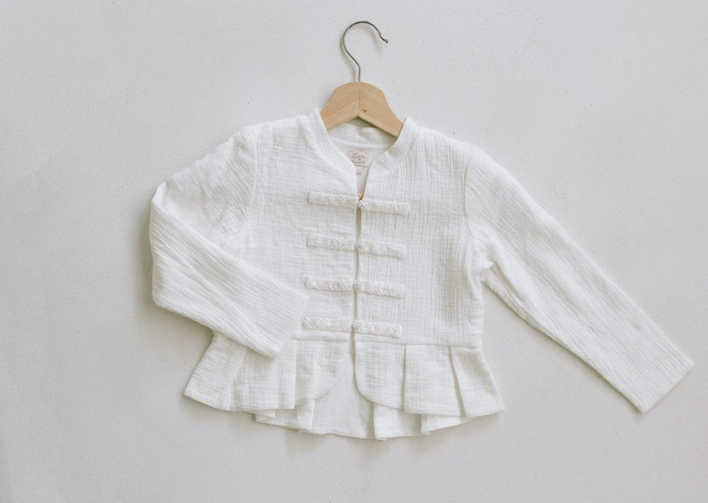 Button Up Glower Girl Jacket