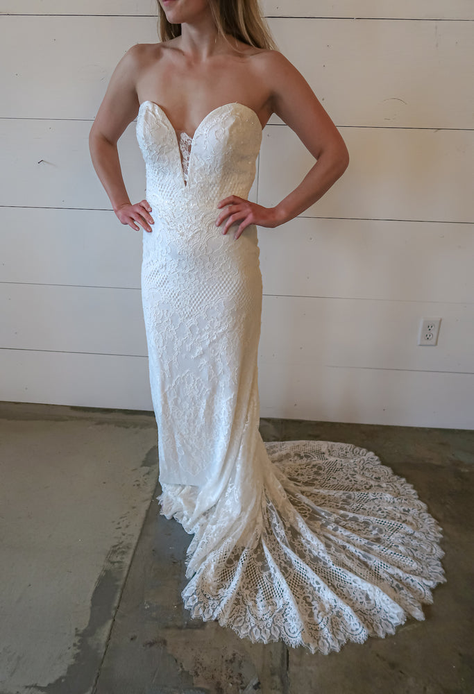 Pronovias Orange Sample Gown