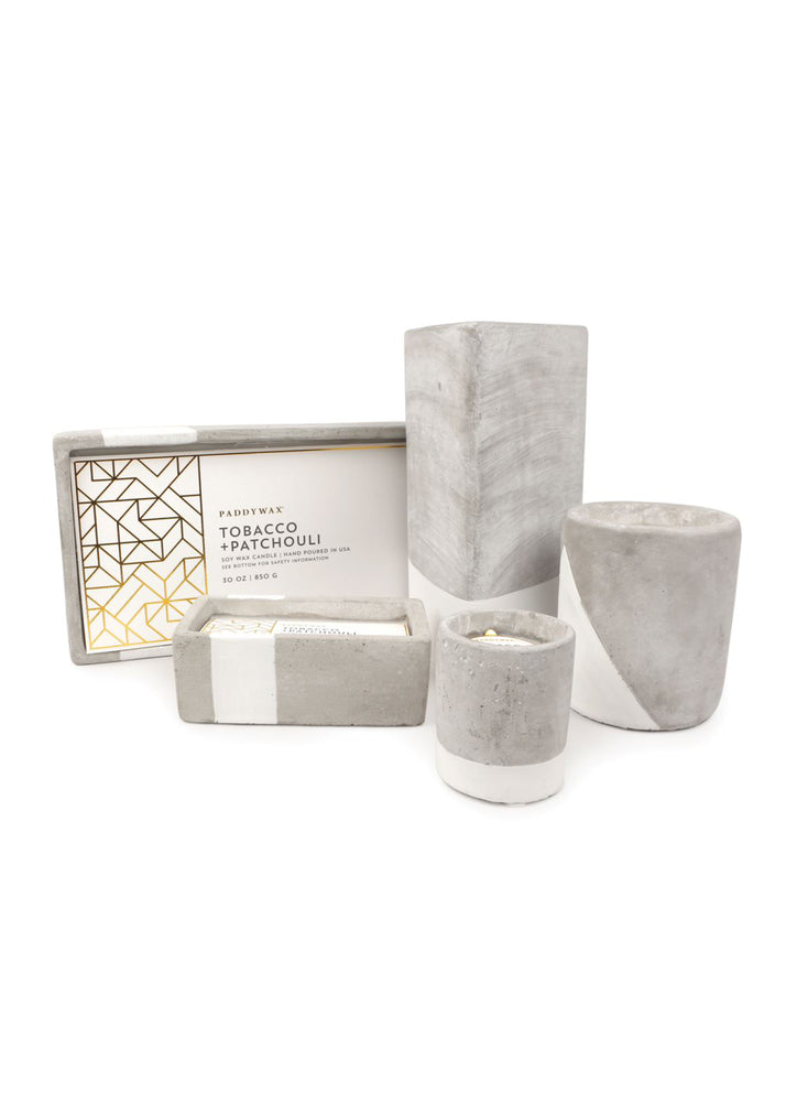 Tobacco + Patchouli Urban Rectangle Candle
