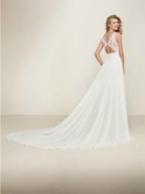 Pronovias Dramia Sample Gown