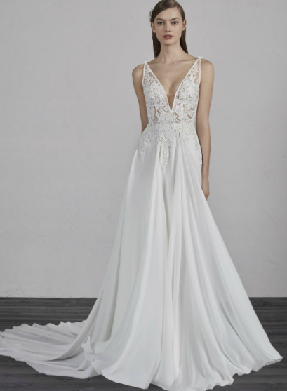 Pronovias Escala Sample Gown
