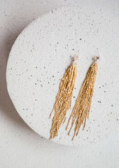 Starry Nights Tassel Earrings