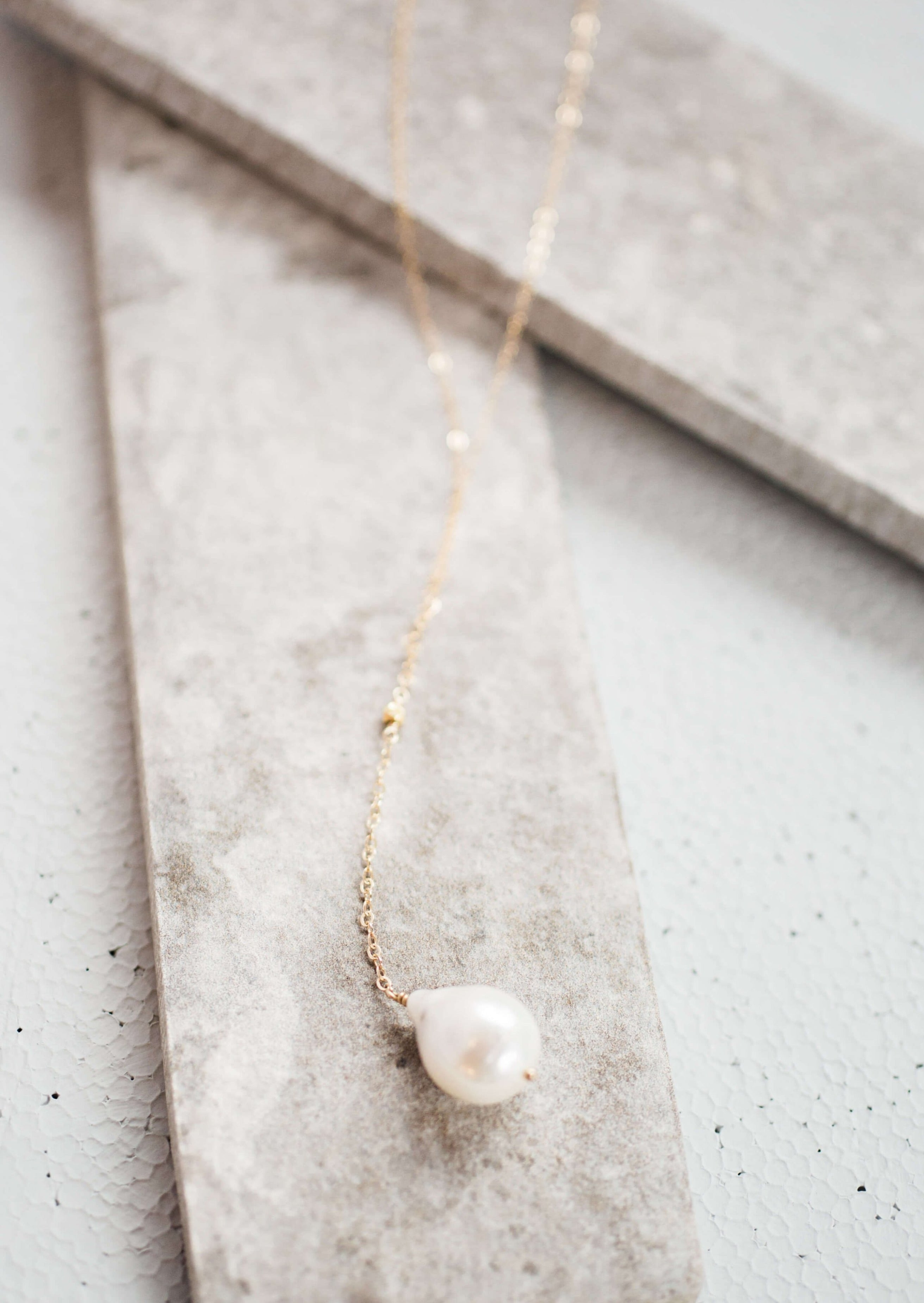 classic baroque pearl necklace