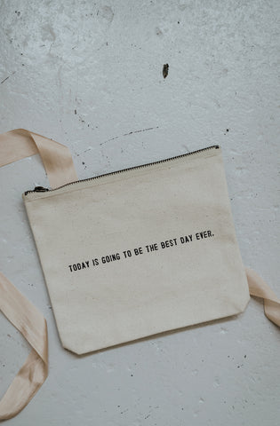 The Best Day Ever Canvas Bag