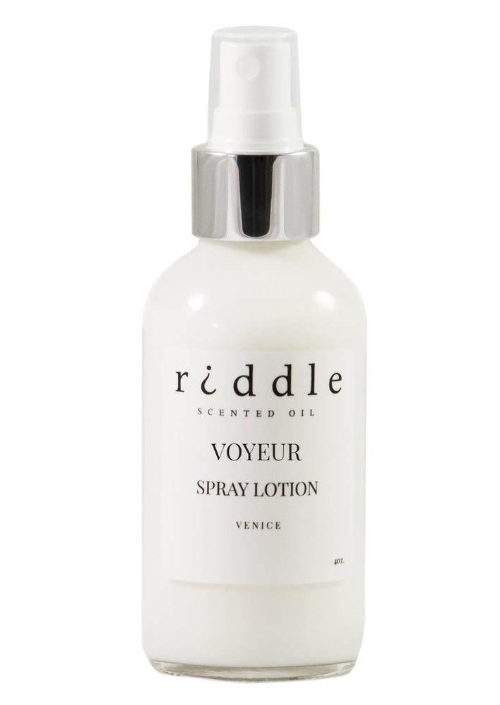 Voyeur by Riddle Spray Lotion