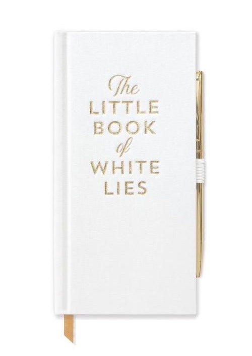 """The Little Book of White Lies"" Journal With Pen"