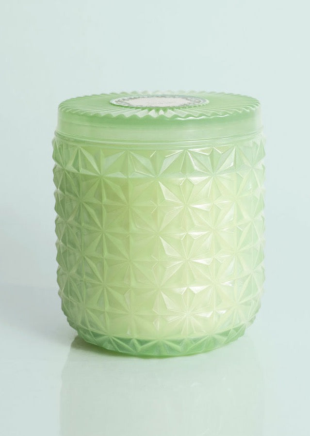 Volcano Jumbo Mint Faceted Jar Candle