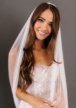 Cathedral Length English Netting Beau Veil