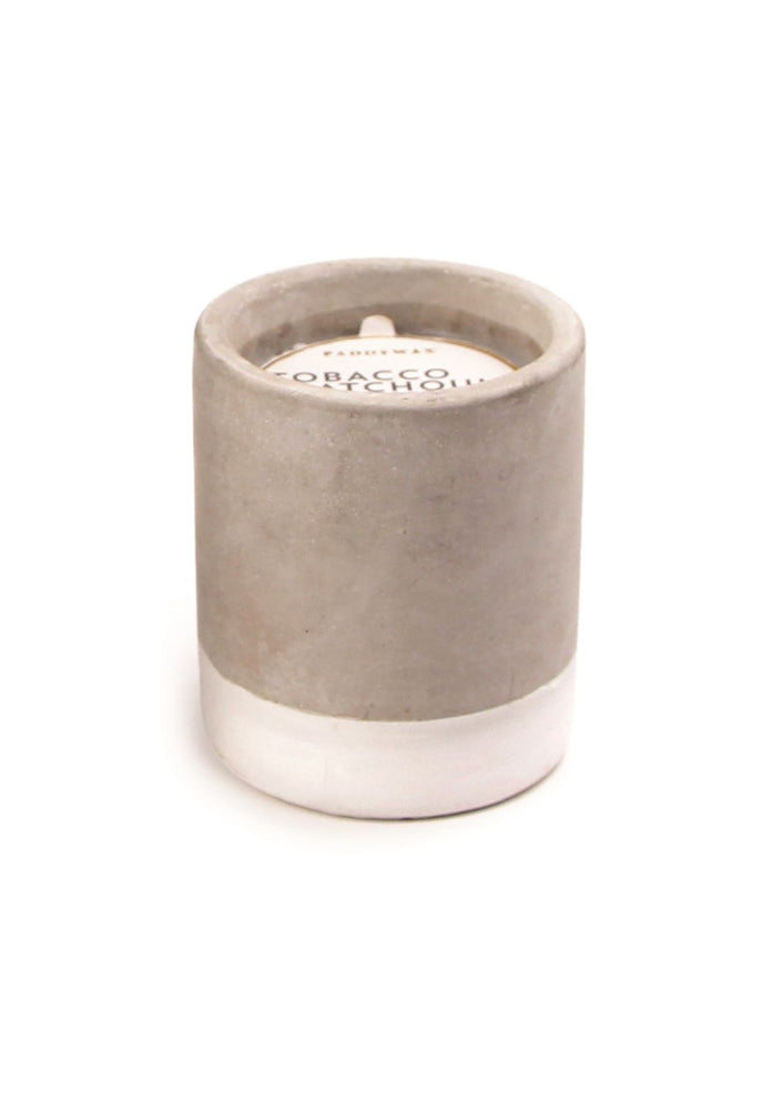 Tobacco + Patchouli Urban Small Cylinder Candle
