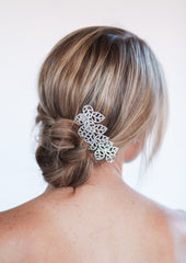 wedding updo comb
