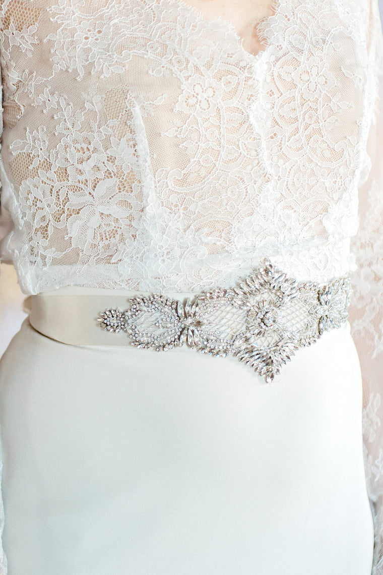 Beaded Glam Belt