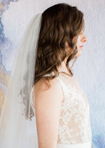 simple wedding veil