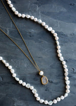 Pearl and Pendant Necklace