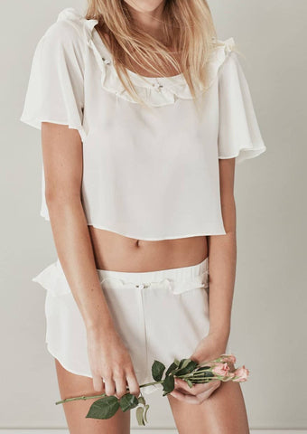 rosette sleep shirt