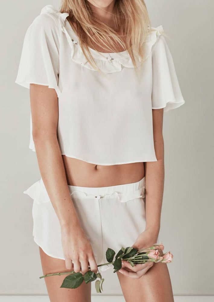 rosette sleep shorts