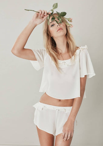 ivory sleep shorts