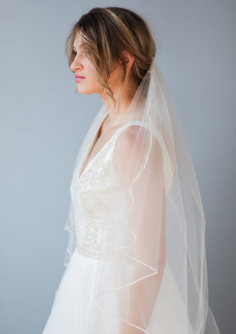 Brooke wedding veil