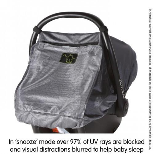 SnoozeShade Baby Car Seat Sun Protection
