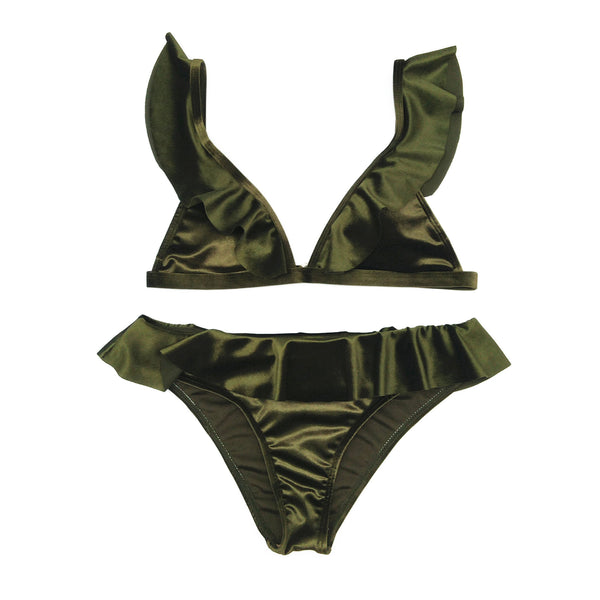 New sexy triangle nylon ladies BIKINI SETS