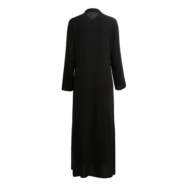 Women Summer Long Shirt Elegant Maxi Dress