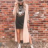 Women Printed Sexy Sleevless Loose T-shirt