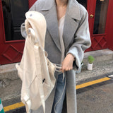 Women Korean Winter Loose Plus Size Cardigans Outwear Coats