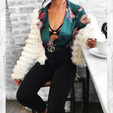 Women One Piece Vintage Sexy Casual Jumpsuit