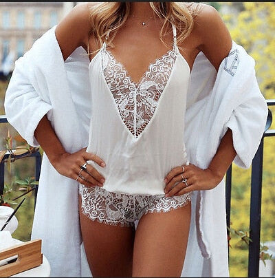 Women New Sexy Lace Bodysuits