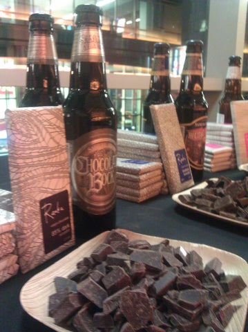 Raaka Chocolates paired with Samuel Adams' Winter Collection