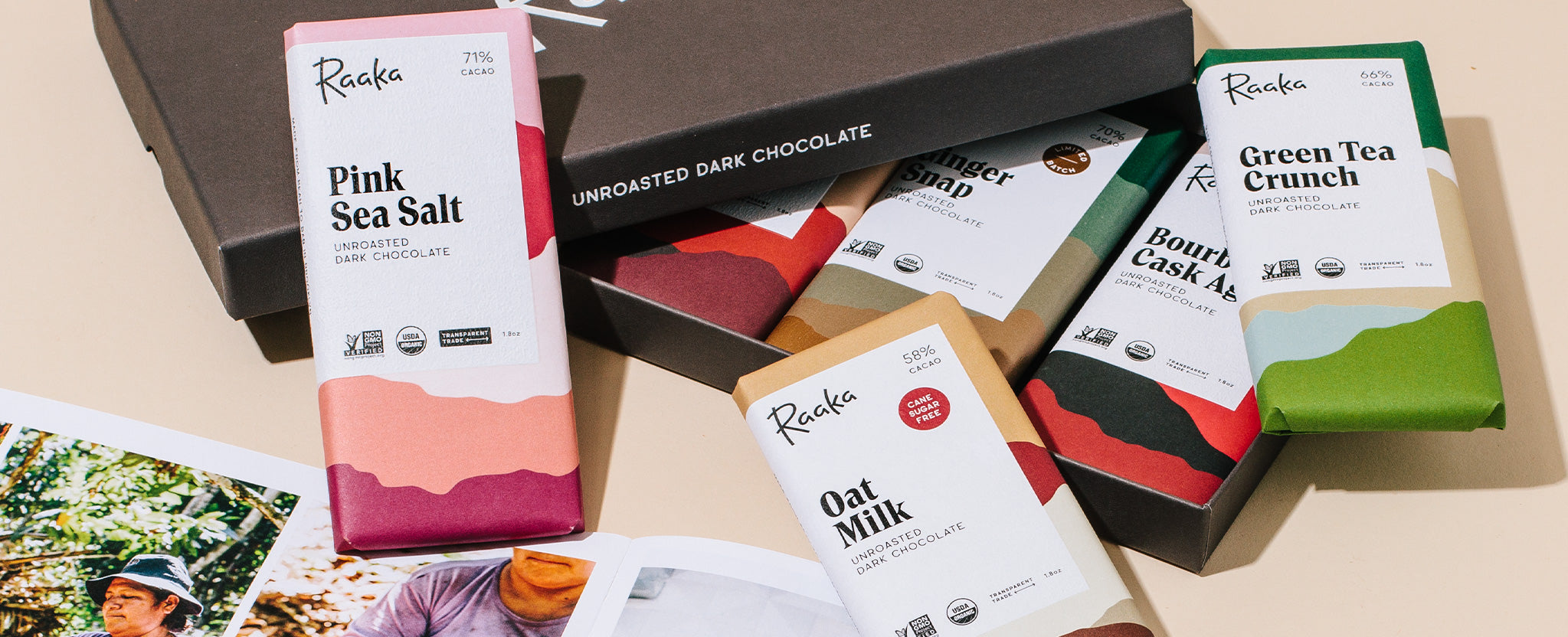 Raaka Chocolate Library Gift Box