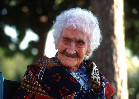 Jeanne Calment: 122 Years of Chocolate.
