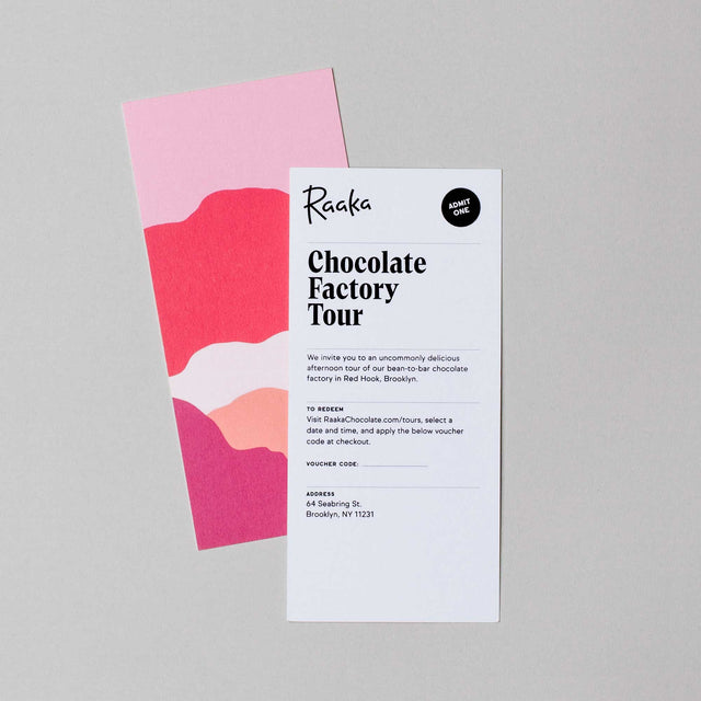 Chocolate Factory Tour Gift Card