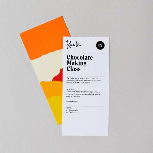 Chocolate Making Class Gift Card