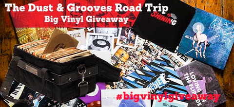 Dust and grooves big vinyl giveaway