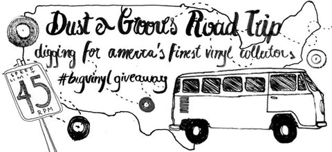 dust and grooves record digging road trip