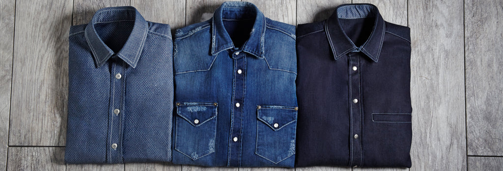Trim Nashville Denim Shirts