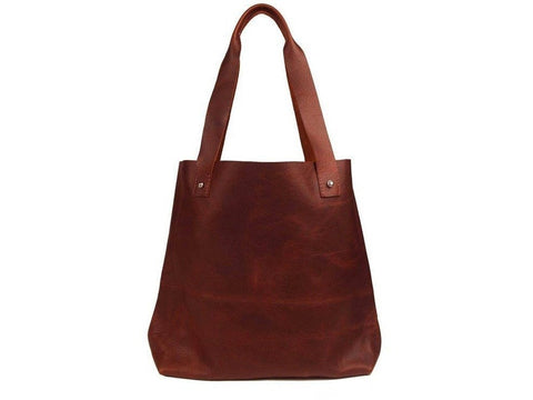 Tote Bag - Bison Leather Columbus Tote