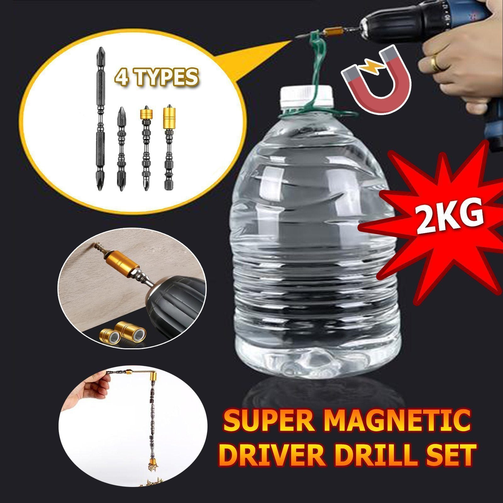 🔥50% OFF🔥Super Magnetic Driver Drill Set